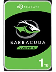 "Seagate New BarraCuda ST1000DM010 1TB 64MB Cache SATA 6.0Gb/s 3.5"" Hard Drive Bare Desktop Drive Latest"