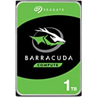 Seagate Barracuda, interne Festplatte 1 TB HDD, 3.5 Zoll, 7200 U/Min, 64 MB Cache, SATA 6 Gb/s, silber, Modellnr…