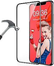 MATONE iPhone XS Max Panzerglas Schutzfolie, [3D Vollständige Abdeckung] [9H Härte] [Ultra Clear], Anti-Kratzer, Blasenfrei, Panzerglasfolie für iPhone XS Max 6.5 Zoll (Clear)