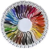Shilpi Quilling Paper 1750 Strips Set - 3mm, 35 Colors, 35 packs
