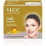 VLCC Facial Kits (VLCC Natural Sciences Gold Facial Kit for Luminous and Radiant Complexion 60g)