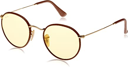 Ray-Ban Photochromatic Phantos Men's Sunglasses - (0RB3475Q90424A50|50|Yellow Photocromatic Color)
