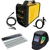 Poste a souder à l' arc inverter Silex France ® (160 A, 230 V, Écran LED, Hot Start, IGBT, Câble de 3m)+ Masque de Soudage El