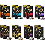 L'OR Coleccion de variedad de Cafe Espresso - Cápsulas de café de aluminio compatibles con Nespresso (R) - 16 paquetes de 10