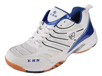 Buy ESS Badminton Shoe - 11UK White at