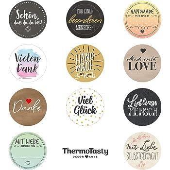 thermotasty decor love 99x universal geschenkaufkleber etiketten sticker f r geschenk t ten und. Black Bedroom Furniture Sets. Home Design Ideas
