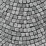 (7,49€/m) Weichschaummatte Antirutschmatte Badezimmermatte Sicherheit Badvorleger Badezimmer WC Meterware - Küche 65cm breite | Farbe : Steine grau 579-1
