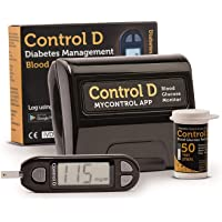 Control D Glucometer with 50 Strips
