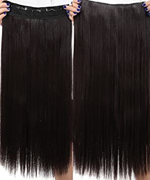 Swt 23 dark brown hair extensions straight full head clip in swt 23 dark brown hair extensions straight full head clip in hair extensions can be permed and washed repeatedly amazon beauty pmusecretfo Choice Image