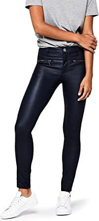 Amazon Brand - find. Women's Pu Coated Trousers