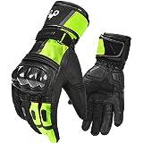 INBIKE Motorrad Handschuhe Herren Wasserdicht Winddicht Touchscreen Motorradhandschuhe Männer Knöchelschutz Aufprallschutz für Motorrad Radfahren Ganzjährig