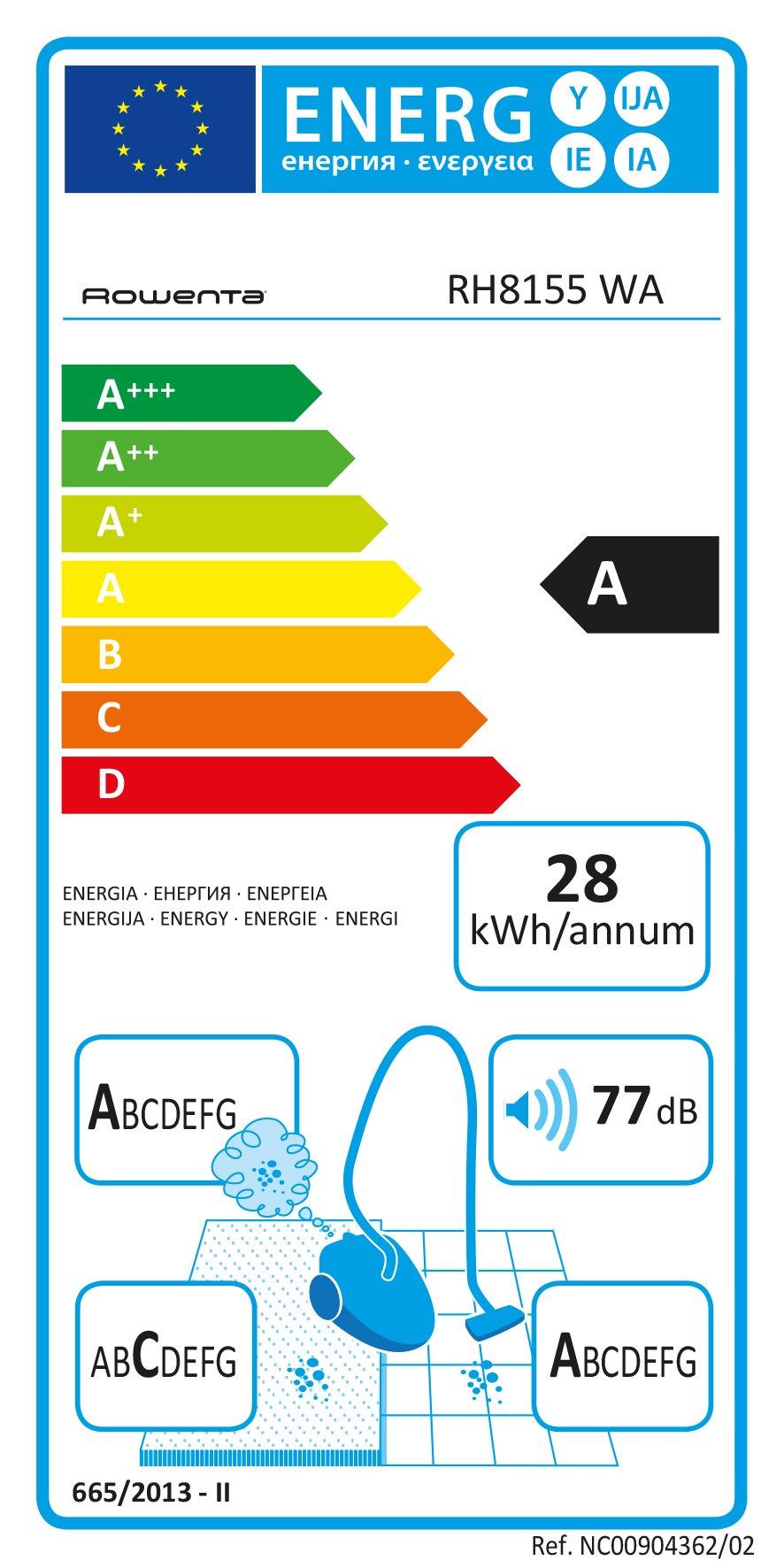 Rowenta RH8155 Powerline Extreme Cyclonic, Scopa Elettrica con Filo e Senza Sacco, Tecnologia Ciclonica, con Kit Animal… 2 spesavip