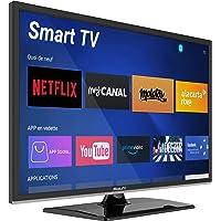 "Smart TV 22"" 55 cm Android - 12/24V - DVD - Camping Car Camion Fourgon Poids Lourd Caravane - MobileTV Silverline…"