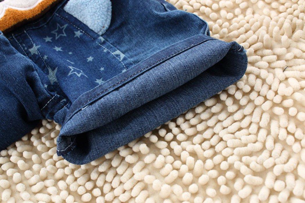 Kidscool - Pantalones cortos de verano para bebés y niñas con orejas amarillas grandes 4