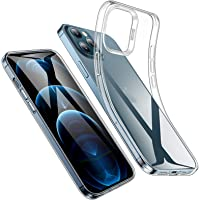 """ESR Clear Case for iPhone 12/12 Pro 6.1"""", Slim Clear Soft TPU Back Cover, Flexible Silicone Cover for iPhone 12/12 Pro 6…"""