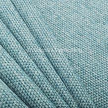 Con textura Plain Weave suave muebles para tapicería cortinas sofás de tela suave color azul ideal para muebles muebles