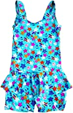 Infant Girl's Poly Cotton 1 Piece Swimsuit by AVS Retail