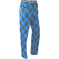 Royal & Awesome Men's Patterned Golf Pants