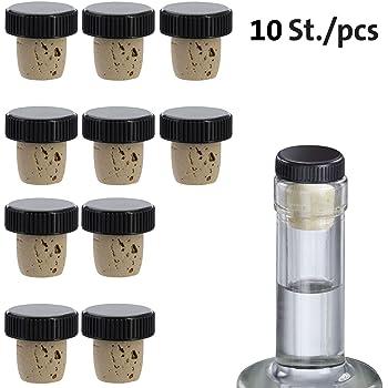 10 Stücke Spitze Korken für Flaschen Griff korken Für Wein Flaschen Stopfen