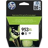 HP 953XL L0S70AE, Negro, Cartucho de Tinta de Alta Capacidad Original, compatible con impresoras de inyección de tinta HP Off