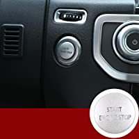 Lega Auto Motore Avvio Pulsante di Stop Cover Adesivo Per Discovery 4 2010-2016 RangeRover Sport 2010-2013 Accessori Interni