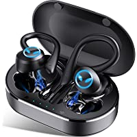 Bluetooth Kopfhörer Sport, Kopfhörer Kabellos in Ear Bluetooth 5.1, IP7 Wasserdicht, Wireless Earbuds mit CVC8.0…