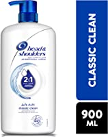 Head & Shoulders Classic Clean 2in1 Anti-Dandruff Shampoo with Conditioner 900 ml