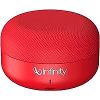 Infinity (JBL) Fuze Pint Deep Bass Dual EQ Bluetooth 5.0 Wireless Portable Speaker (Passion Red)