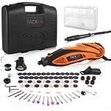 TACKLIFE RTD35ACL Strumento Multifunzione,Utensile Rotante con 83 Accessori, Mini Drill con Velocita' Variabile per…