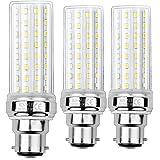 HZSANUE LED Ampoule à Maïs 20W, 150W Équivalent Ampoules à Incandescence, B22 LED Baïonnette Ampoules, 3000K Blanc Chaud, 200