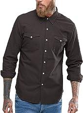 NxtSkin Men's Cotton Full Sleeve Shirt