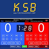 Karate Scoreboard for Kumite TP