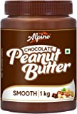 Alpino Chocolate Peanut Butter Smooth 1 KG | Made with High Quality Roasted Peanuts, Cocoa Powder & Choco Chips | 100…