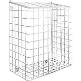 Brievenbuskooi met Bevestigingen | Mail Catcher Cage | Iron Basket Post Catcher | Deur Letter Guard | Outdoor & Indoor houder