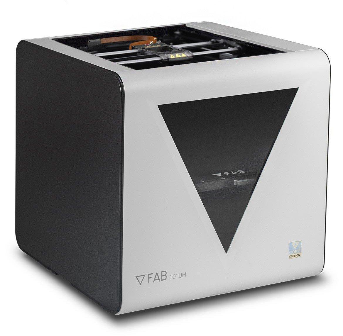 Impresora 3D profesional de alta calidad FABtotum Core PRO 2018 - Color: blanco