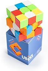 Cubixs Zauberwürfel - Original Speedcube - Typ Sydney - stickerloser Würfel mit optimierten Dreheigenschaften (3x3)