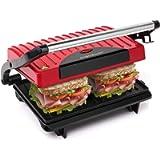 Aigostar Warme 30HHH - Panini Maker/Griglia, Pressa a sandwich, Griglia elettrica, 700 Watt, Fredda al tocco…