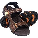 Sandalias Hombre Verano,Sandalias Mujer Deportivas y Playeras,Zapatos de Playa Cómodo Ajustable Tres Capas de Velcro Al Aire