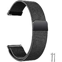 Cinturino in Acciaio Inossidabile Cinturino per Orologio 22/20mm Cinturino Orologio in Maglia Intrecciata in Maglia…