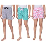 Real Basics Women's Lounge Shorts- Pack of 3