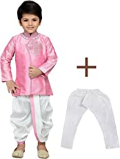 AJ Dezines Kids Indo Western Kurta Pyjamas Dhoti Pant Set for Boys