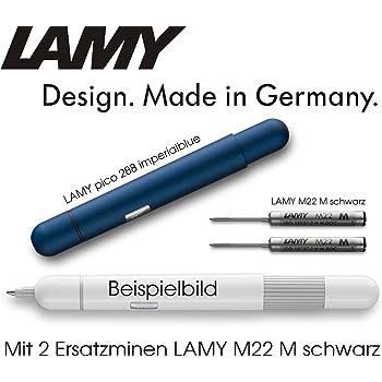 LAMY Kugelschreiber pico schwarz 288 inkl.2 Minen im Set Designer:Franco Clivio
