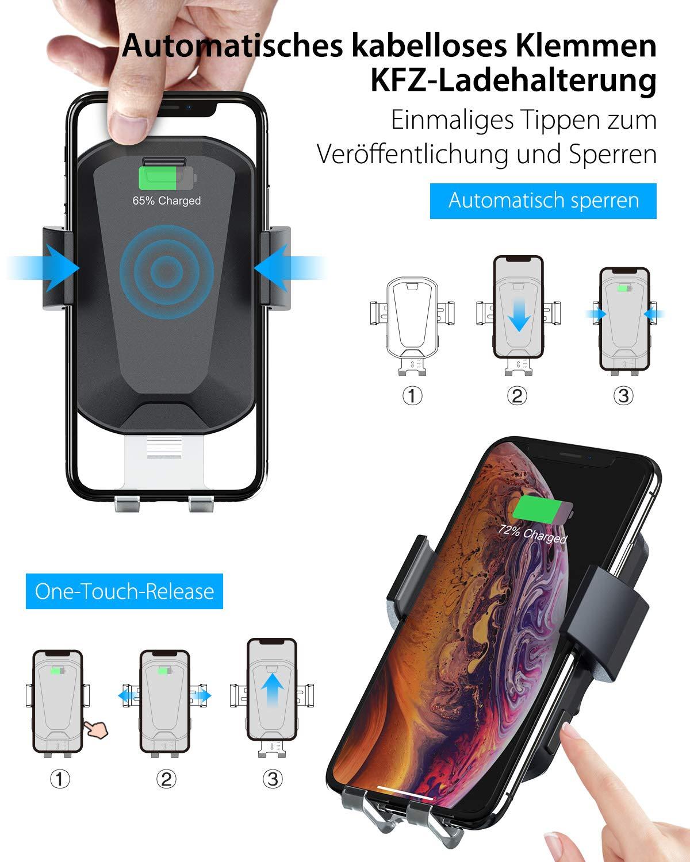 HiGoing-Kabellose-Auto-Ladegerte-2-in-1-Qi-10W-Schnellladung-Automatisches-Spannen-KFZ-Drahtloses-Ladegert-Handyhalterung-mit-Auto-Lftung-Windschutzscheibe-fr-Samsung-iPhone-und-alle-Qi-Gerte