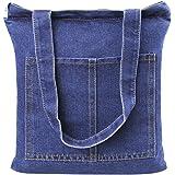 FakeFace Home Neue Art Jeansstoff Damentasche Robuste Schultertasche für Shopping Freizeit Casual Henkeltasche Lady Bag Einka