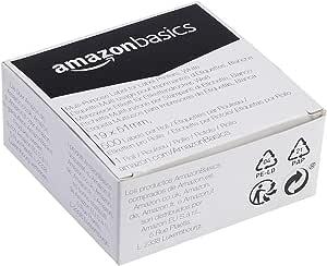 AmazonBasics Étiquettes multi-usages pour imprimantes pour étiquettes 19x51 mm, 500 étiquettes par rouleau, 1 rouleau