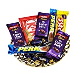SFU E Com Chocolate Gift Hamper   Gift for Diwali, Anniversary, Birthday, Christmas, Valentine, Her, Him   Assorted...