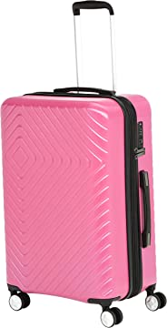 AmazonBasics - Trolley, mit geometrischem Muster, 68cm, Rosa