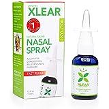 Xlear Nasenspray mit Xylitol für Entzündungen der Nasennebenhöhle, 45ml Flasche