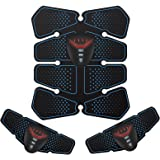 NOWKIN Elettrostimolatore per Addominali Elettrostimolatori Professionale Massaggianti Cintura Muscolare Addominale Tonifican