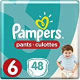 Pampers Pants Diapers, Size 6, Extra Large, 16+ kg, 48 Count